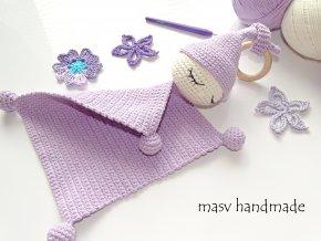 Háčkované miminko usínáček  masv handmade