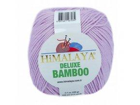 Příze Deluxe Bamboo 124-11 světle fialová