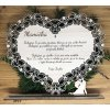 Ornamentálne srdce pre rodičov