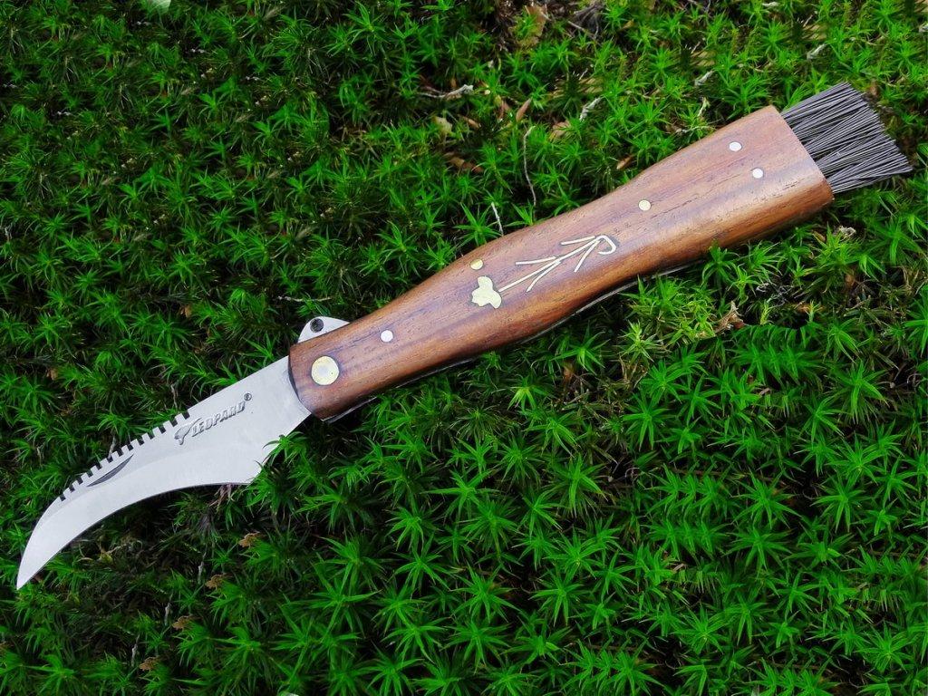 Houbařský nůž Leopard - tmavý - II.třída, sleva 40%