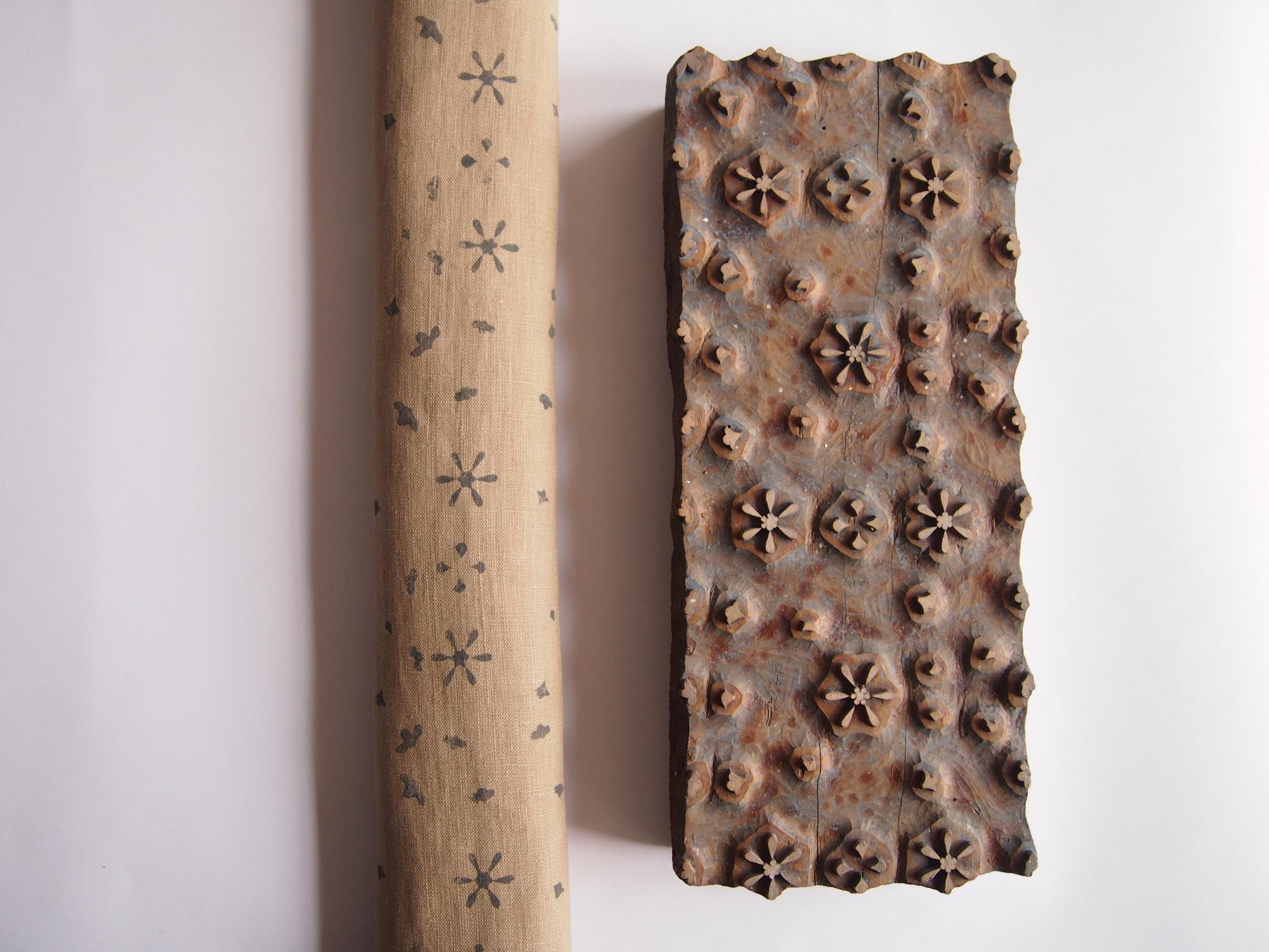 Tisk ze starých dřevěných forem