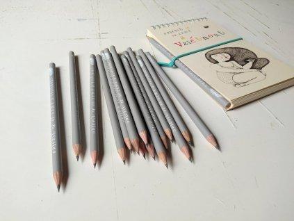 tužky šedé