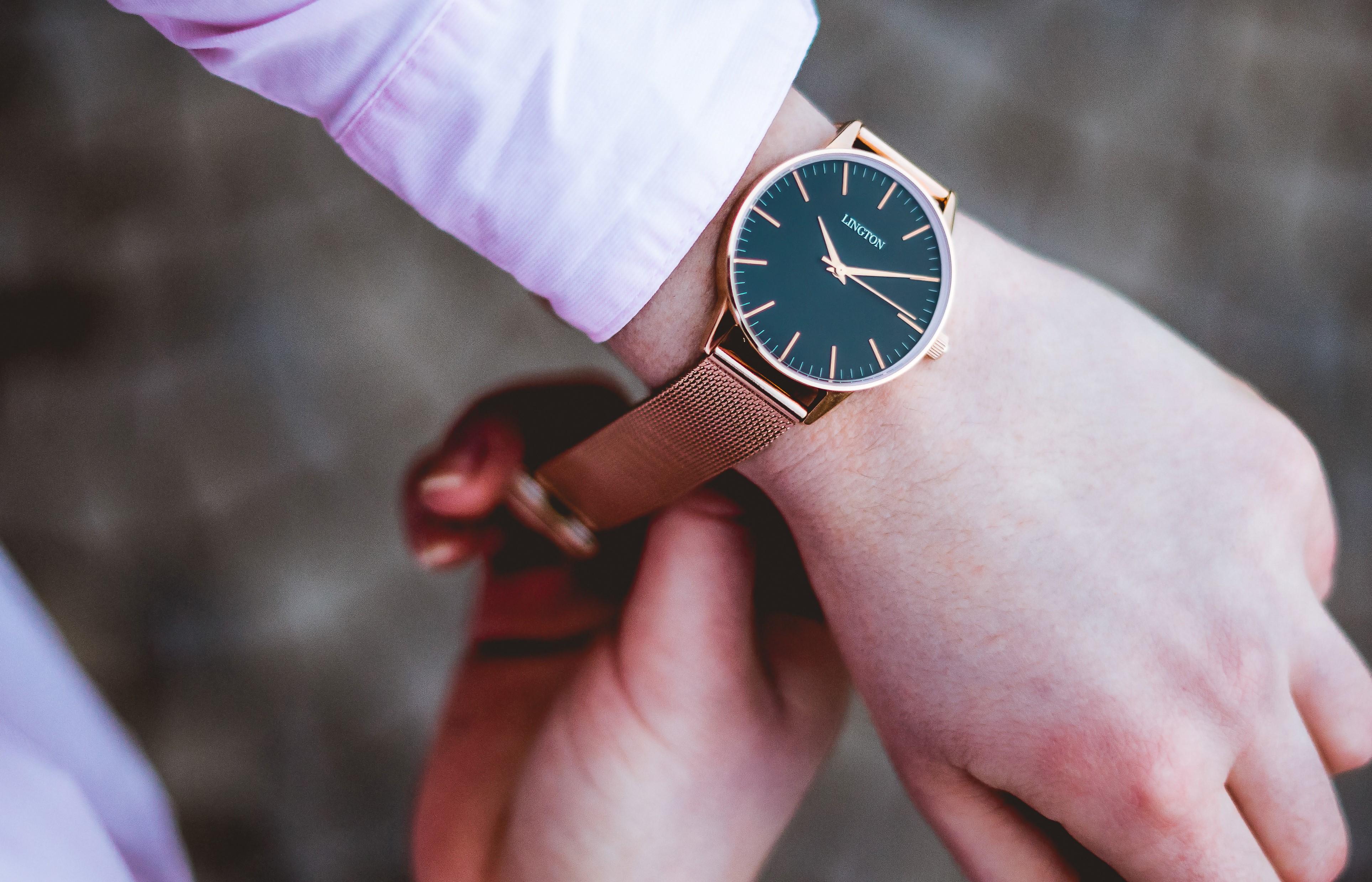 4 tipy, jak sladit hodinky se zbytkem outfitu