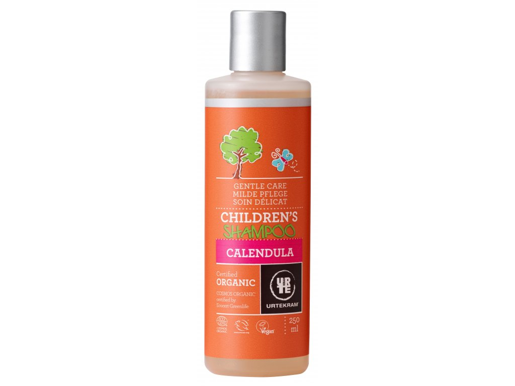 URTEKRAM Dětský šampon bio 250ml