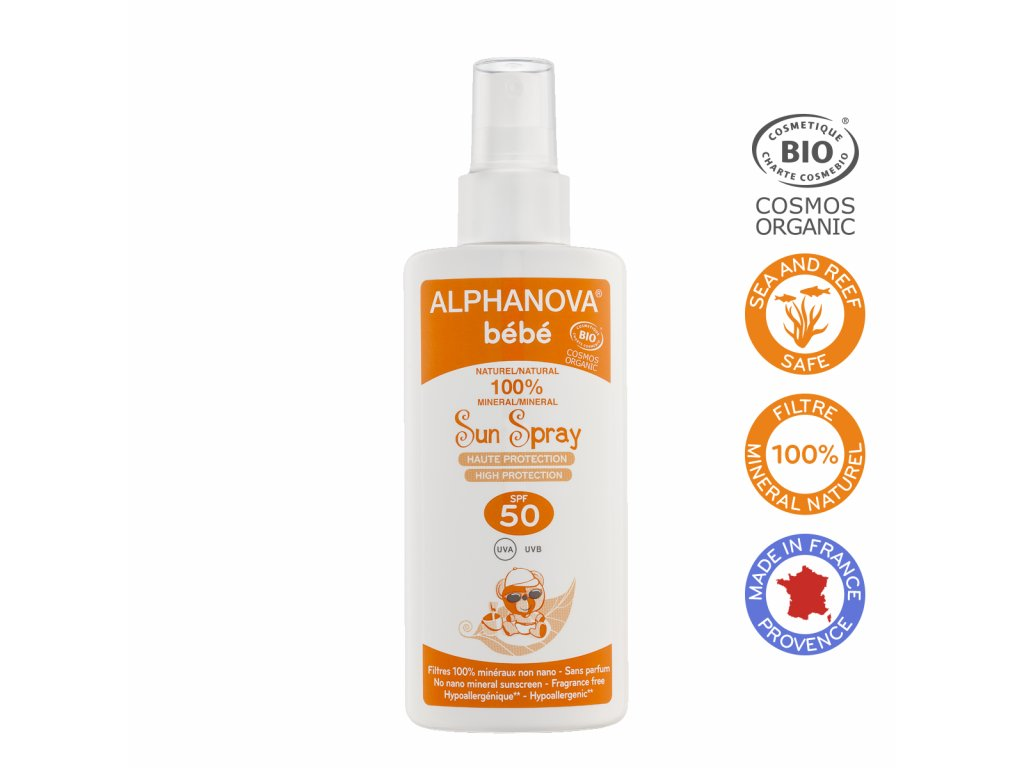 ALPHANOVA SUN SPRAY BEBE SPF 50