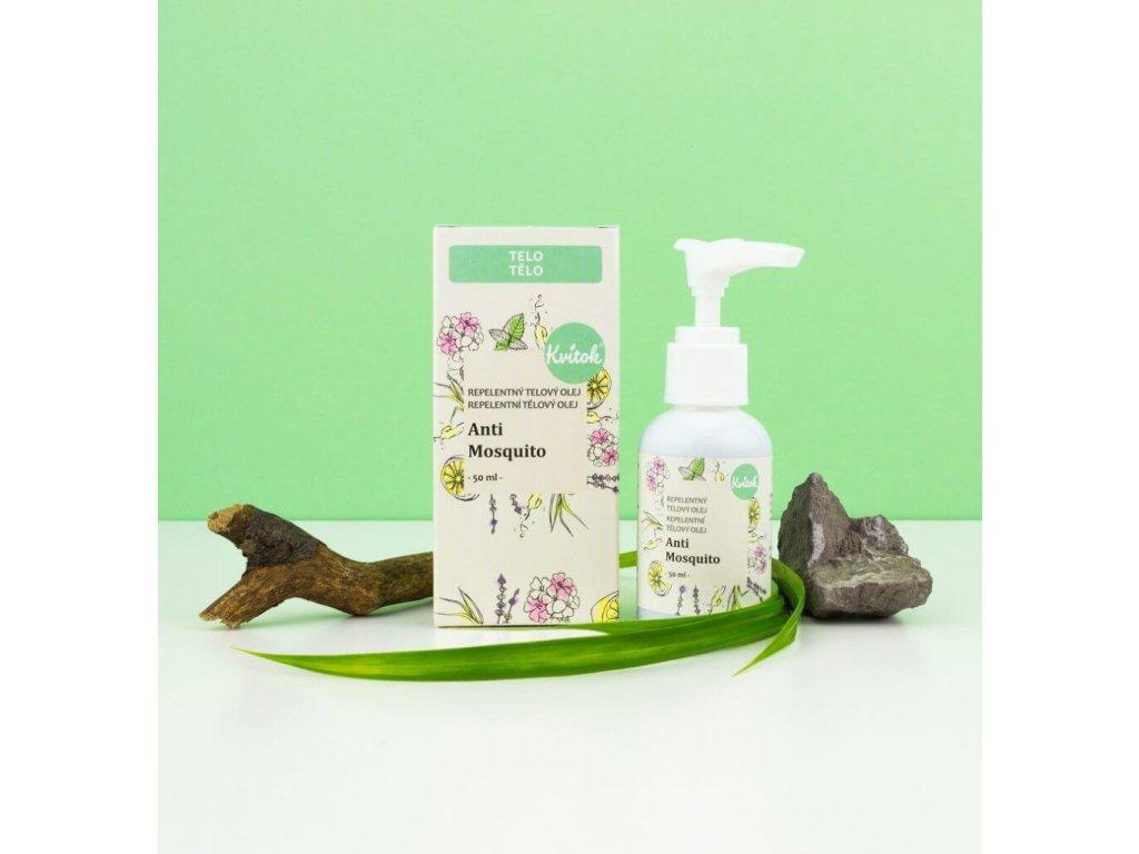 KVITOK Repelentní tělový olej Anti Mosquito 50 ml