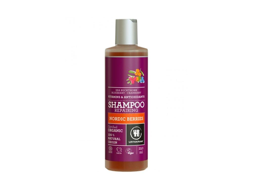 Šampon Nordic Berries Bio 250 ml na poškozené vlasy