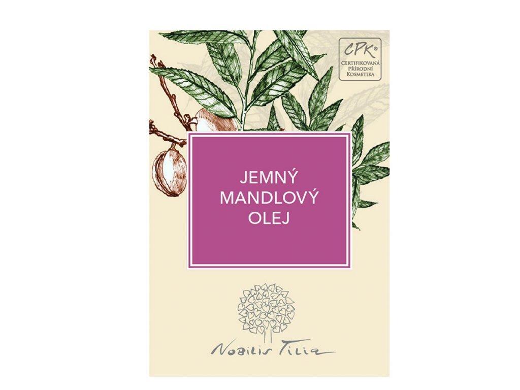 Nobilis Tilia Mandlovy olej jemny 3ml vzorek