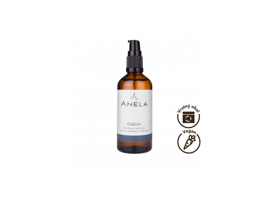 Anela - Odlíčím - odličovač pleťového a očního make-upu