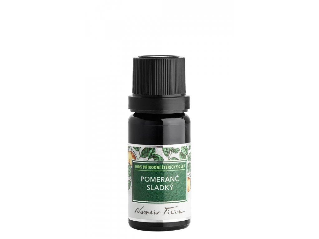 Nobilis Tilia - éterický olej Pomeranč sladký, 10 ml