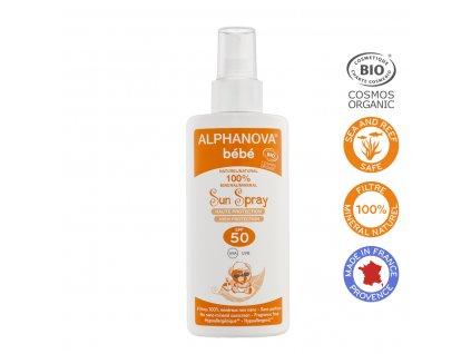 ALPHANOVA SUN SPRAY BEBE SPF 50