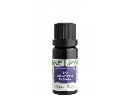 Aromaterapie Nobilis tilia Éterický olej Bio Eukalyptus radiata