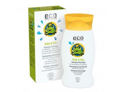 Eco cosmetics detsky sampon sprchovy gel v jednom bio