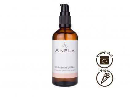 Anela - těhotenský pěstící olej Ochráním bříška