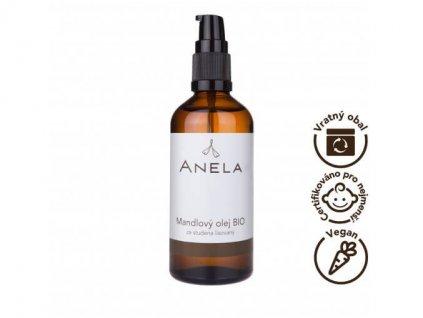 Anela - Mandlový olej 100 ml