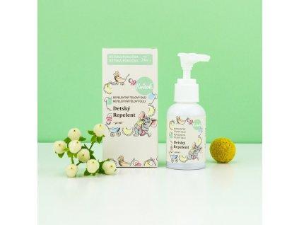 KVITOK Repelentní tělový olej - Dětský repelent 50 ml