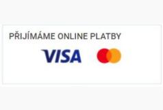 Platba je možná platební kartou