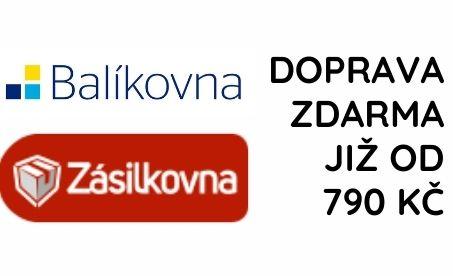 Doprava zdarma již od 790 Kč. Více než 5000 Zásilkoven! | Linie-hubnuti.cz