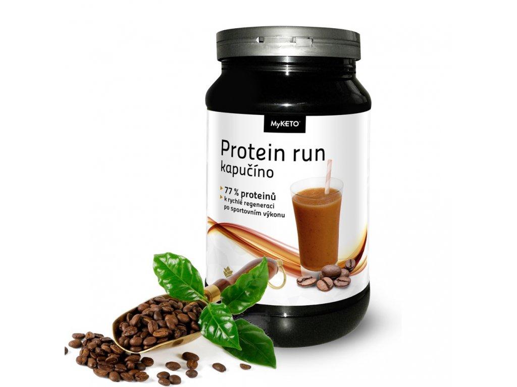myketo protein gym and body k rychlé regeneraci po sportu kapučíno