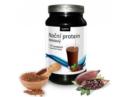 myketo noční protein gym and body kakao