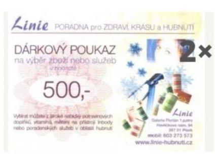 darkovy certifikat 1000