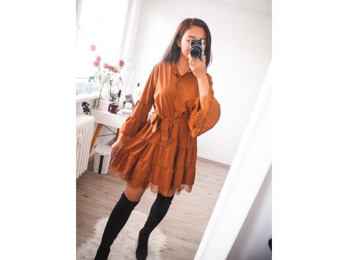 Roztomilé šaty s volánky - Wendy