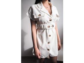 Šaty s límcem - Safari