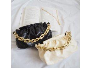 Módní kabelka se zlatým řetezem - Wendy