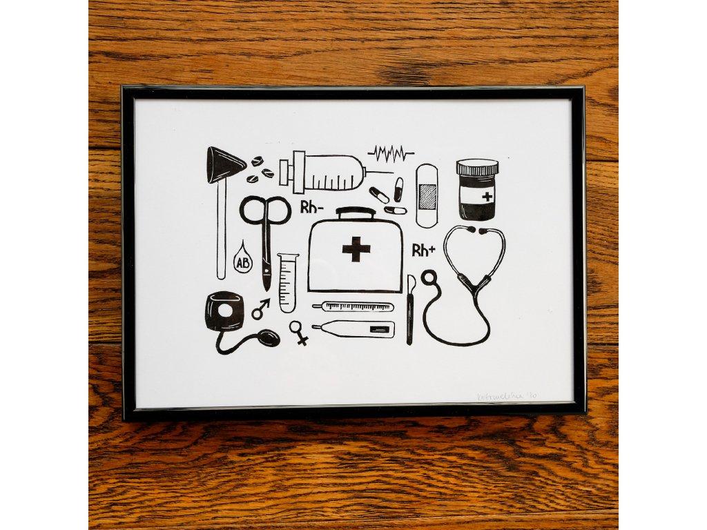 Lékařské náčiní A4