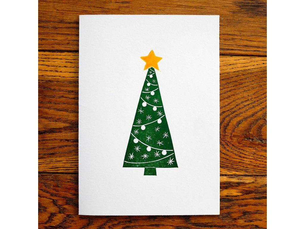 Vánoční přání stromek