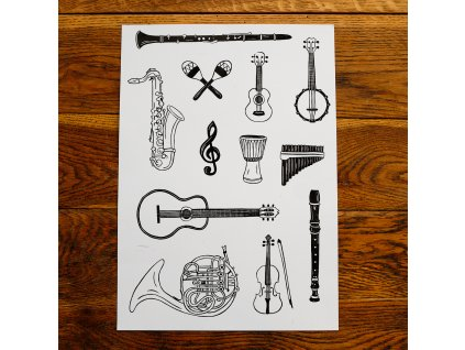 Hudební nástroje A3