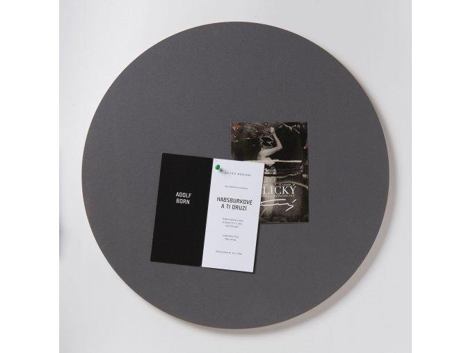 Nástěnka ve tvaru kruhu K204 POPPY SEED 59 cm
