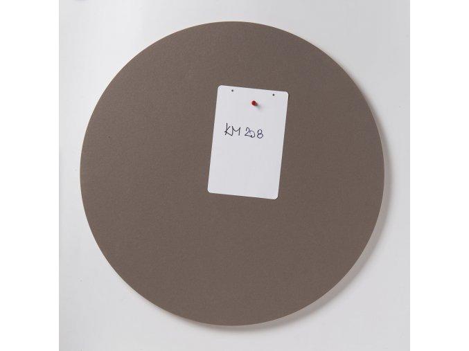 Nástěnka ve tvaru kruhu K208  MUSFROOM MEDLEY 38 cm