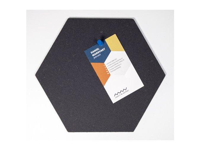 Designová nástěnka HEXAGON MINI HE209 1 ksDSC 6142