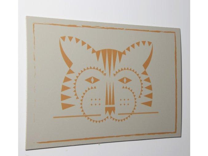 Tigr 30x20 cm