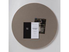 Nástěnka ve tvaru kruhu K182 POTATO SKIN 59 cm