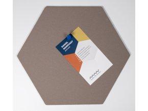 Designová nástěnka HEXAGON MINI HE208 1 ksDSC 6133