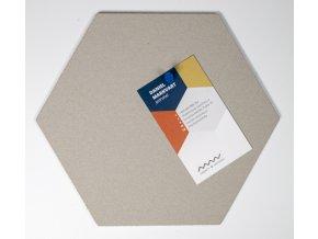 Designová nástěnka HEXAGON MINI HE206 1 ksDSC 6138