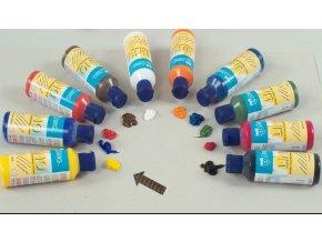 Barva na linoryt 80 ml Modrá