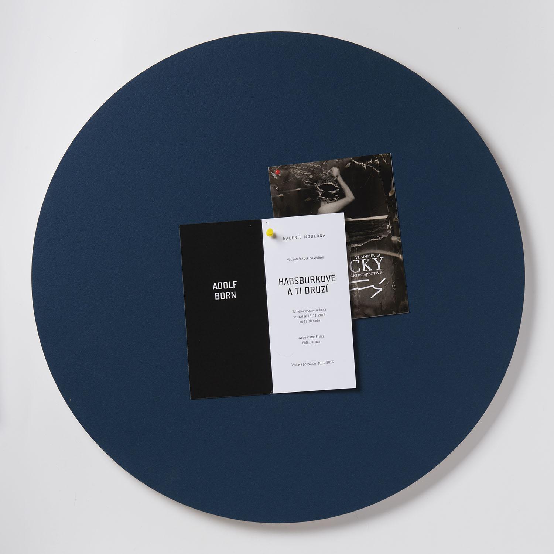 Nástěnka ve tvaru kruhu K214 BLUE BERRY