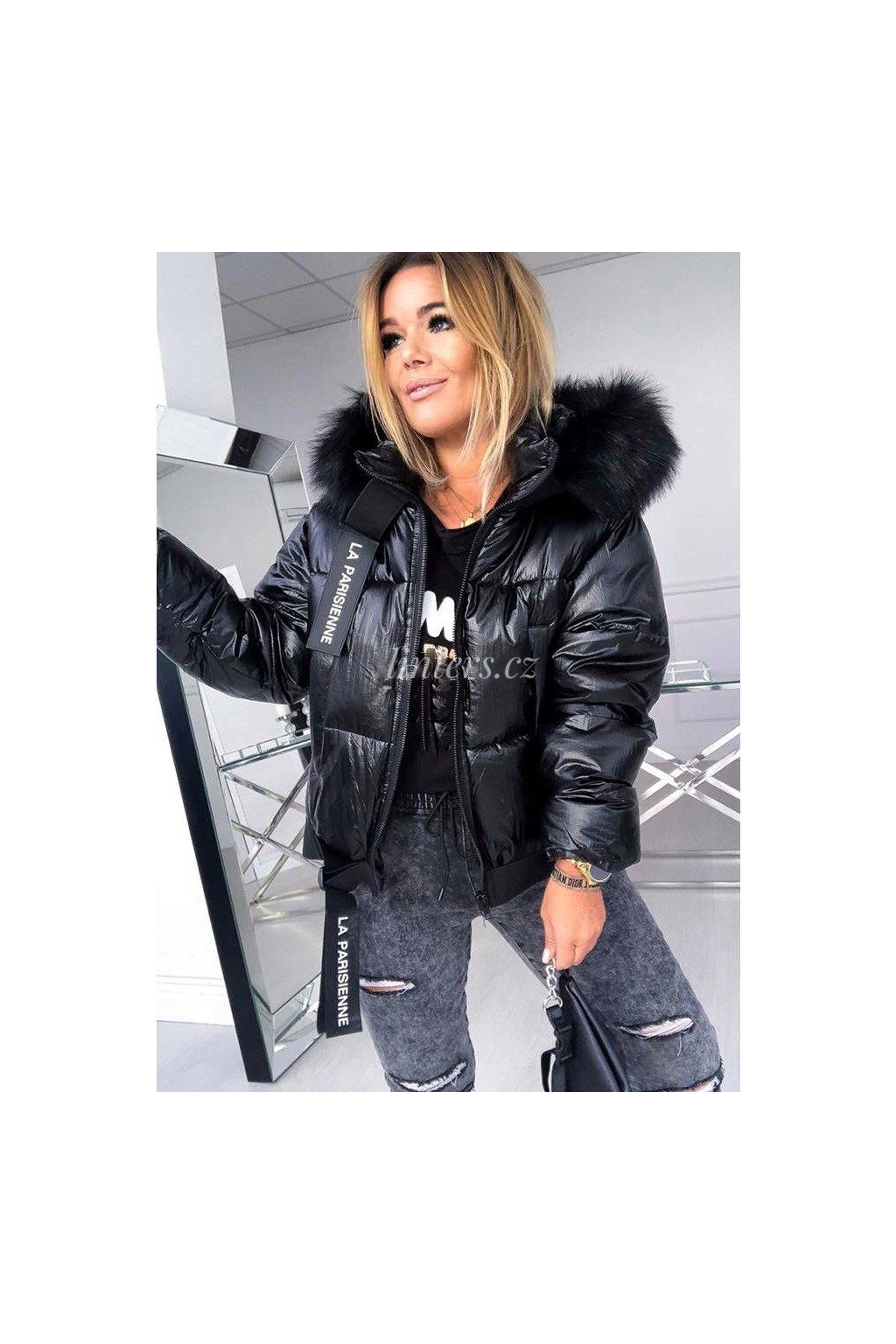 Zimní bunda Parisienne Black