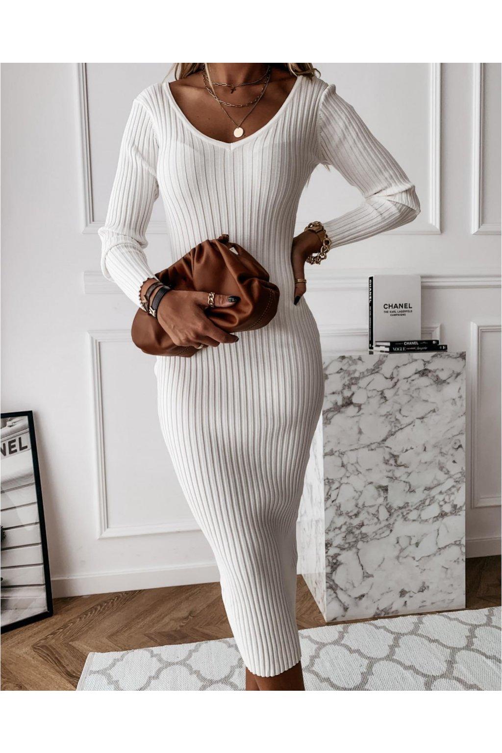Úpletové šaty Vamos