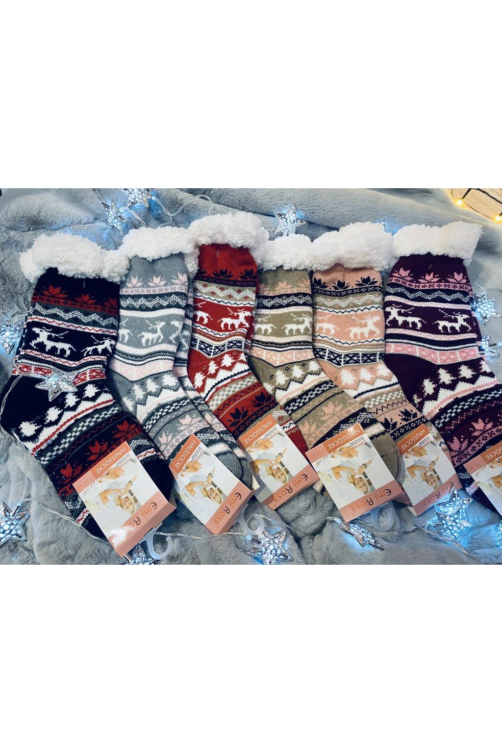 Dámské vlněné ponožky