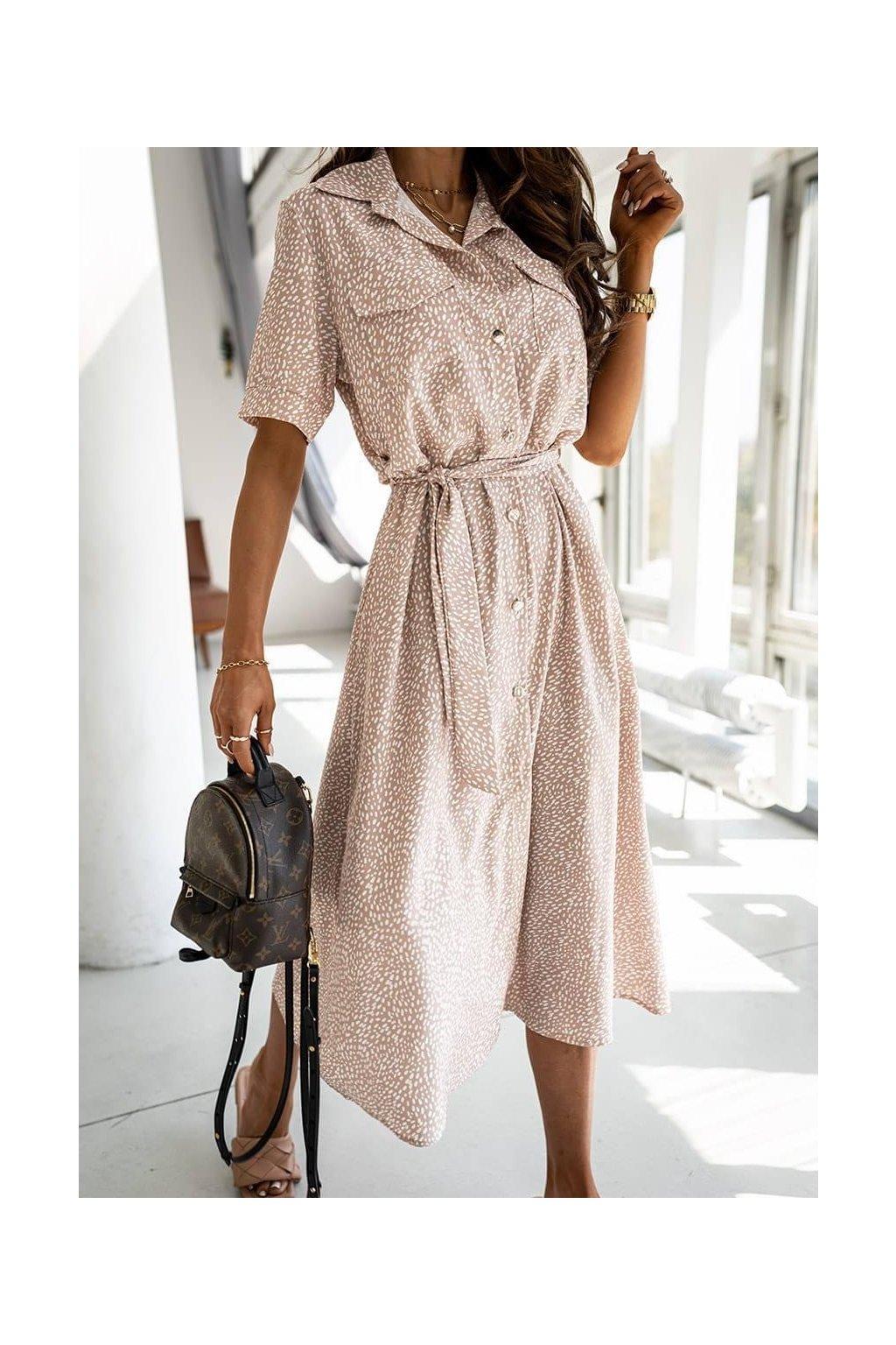 Košilové šaty Meghan