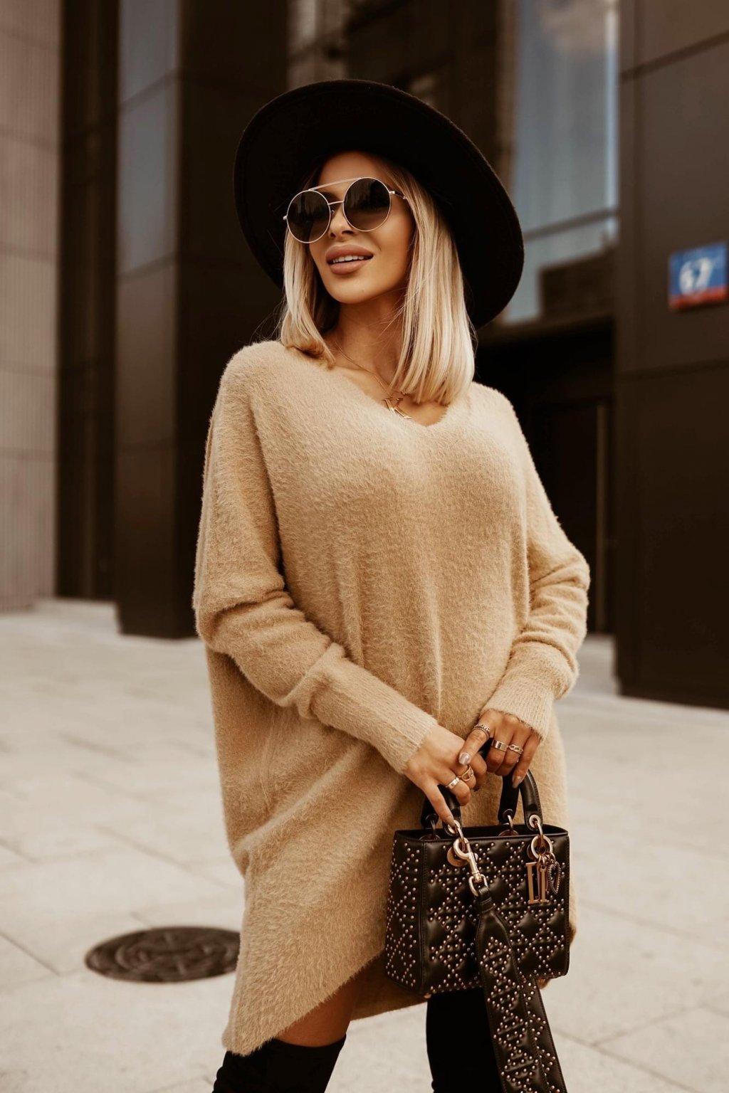 Heboučký svetr