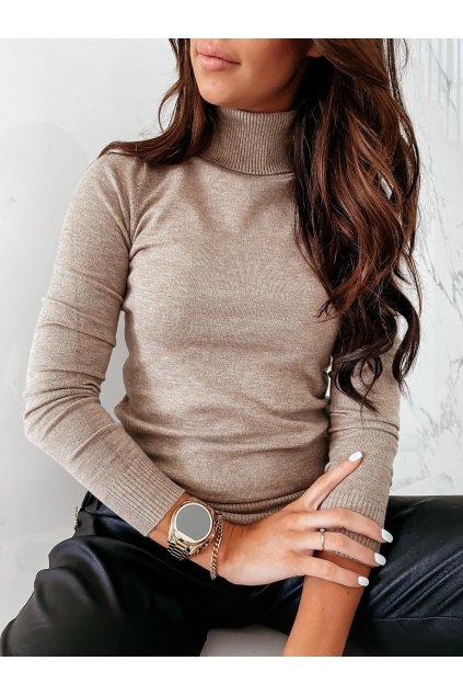 Rolákový svetr Basic/barvy