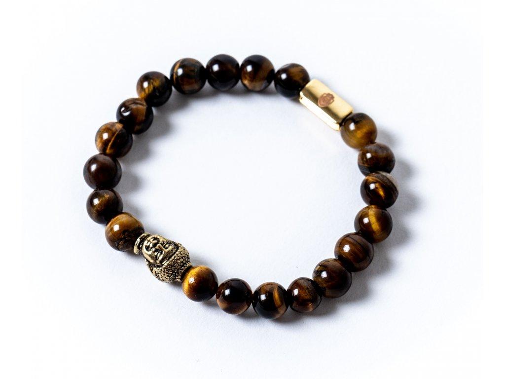 Náramek buddha tygří oko (4)