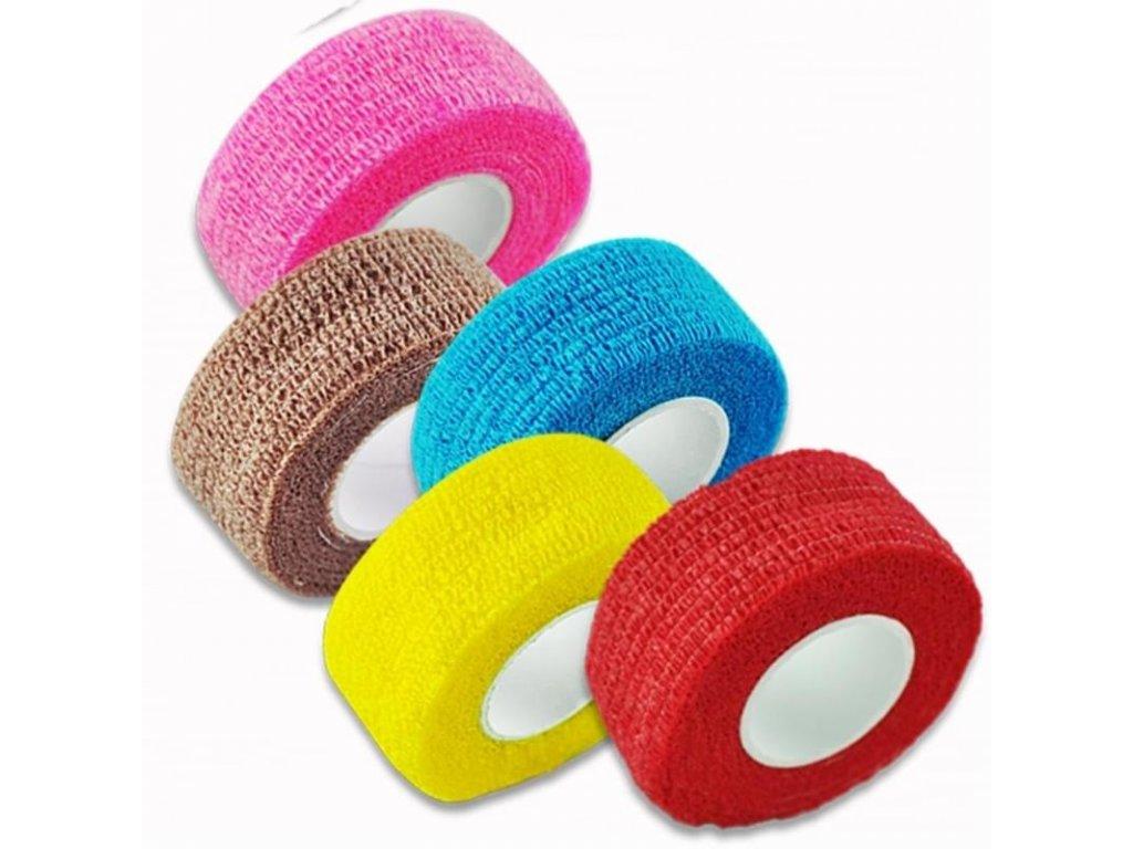 Textilní elastické náplasti