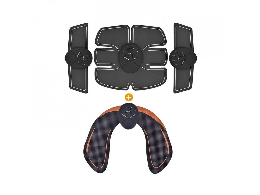 EMS posilovač břišních, hýžďových a pažních svalů