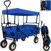 Skládací transportní vozík s odnímatelnou střechou